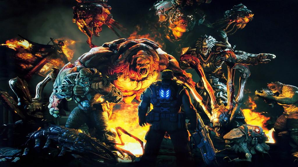 Gears of War 3 Wallpapers 1080p
