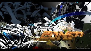 Graffiti 3D wallpaper