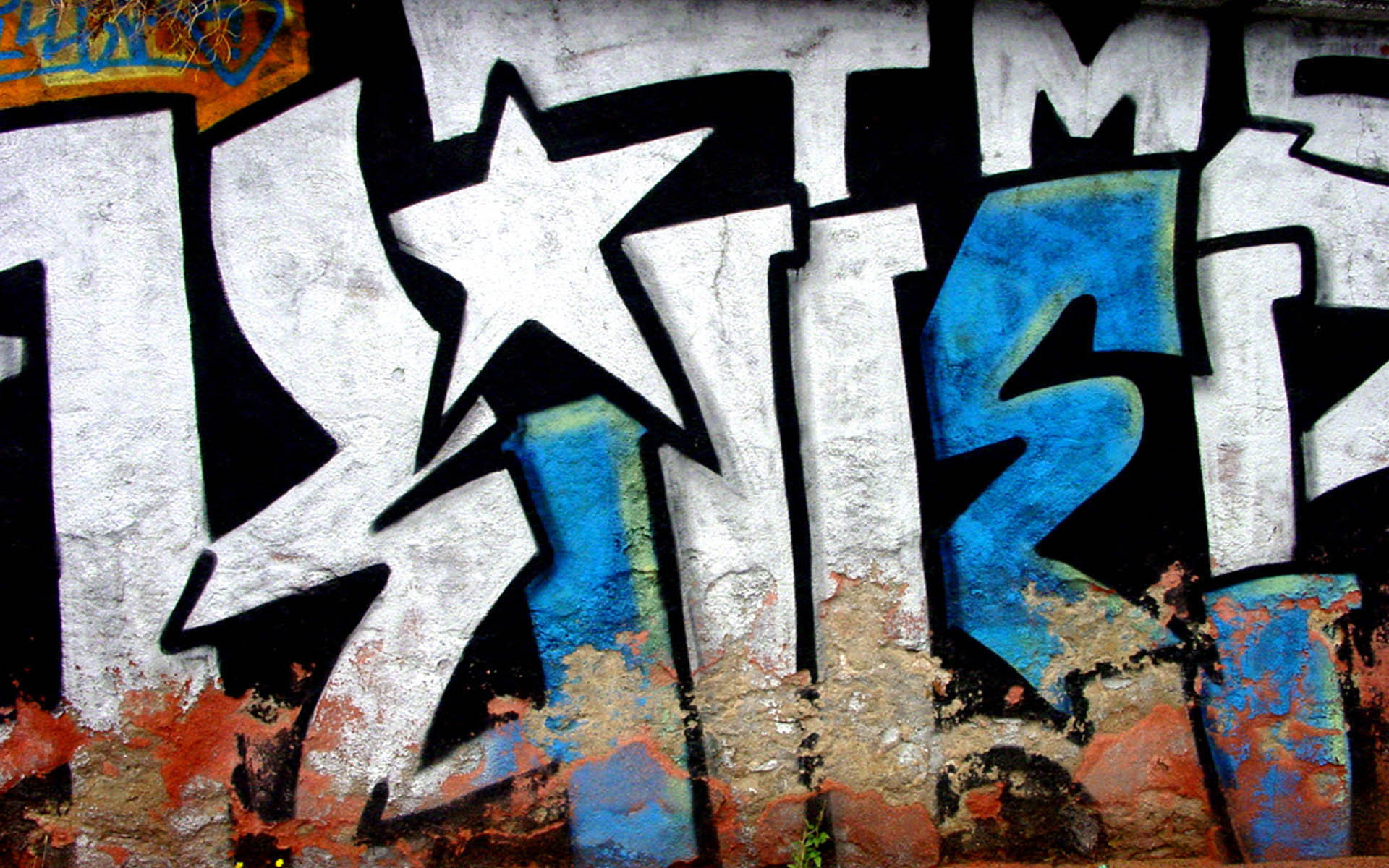 Graffiti wallpaper hd for Immagini graffiti hd