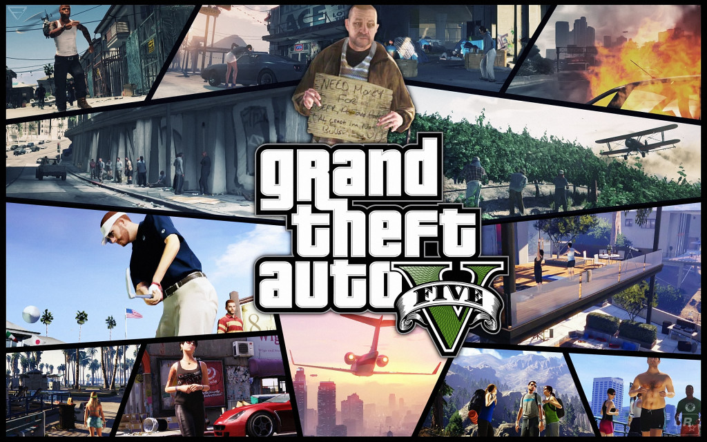 Grand Theft Auto 5 Widescreen