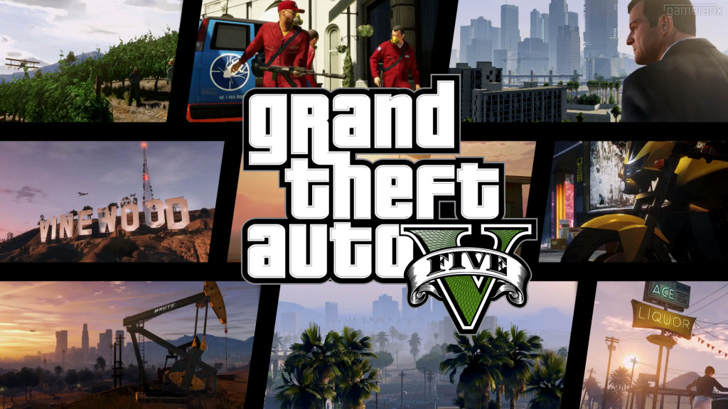 Grand Theft Auto v Wallpaper