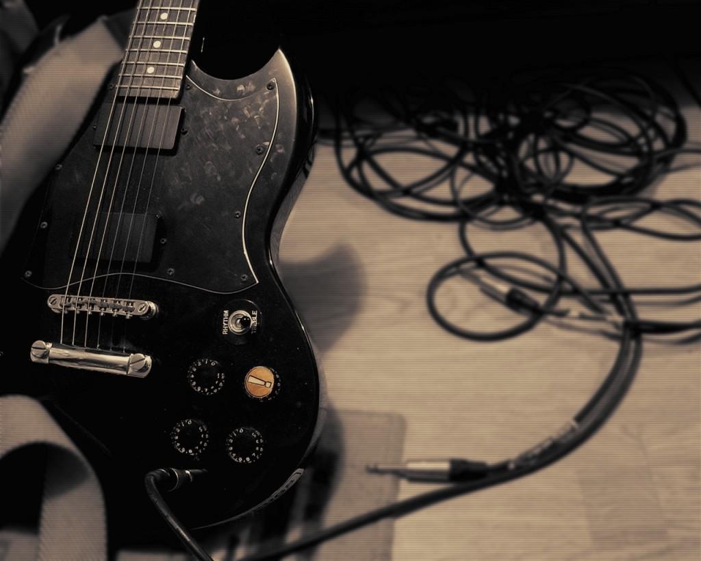 Guitar Music Wallpaper