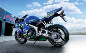 Honda CBR 600RR Movistar Wallpaper