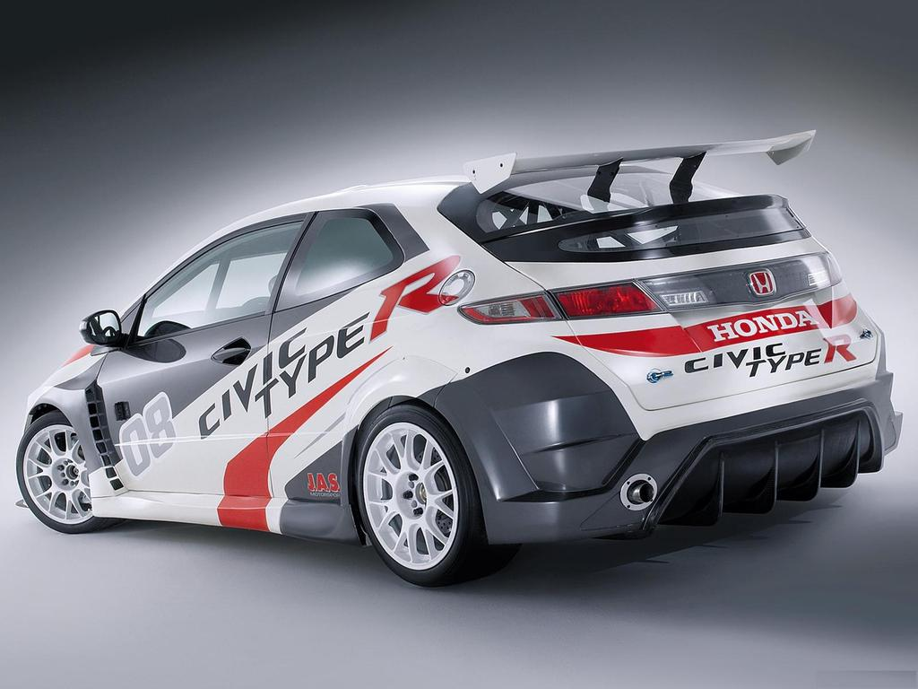 Honda Civic Type-R Racing Car | Wallpup.com