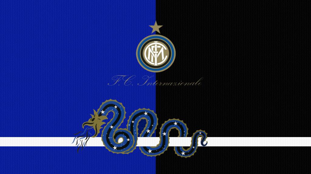 Inter Logo Wallpaper