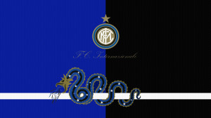 Inter Logo Wallpaper