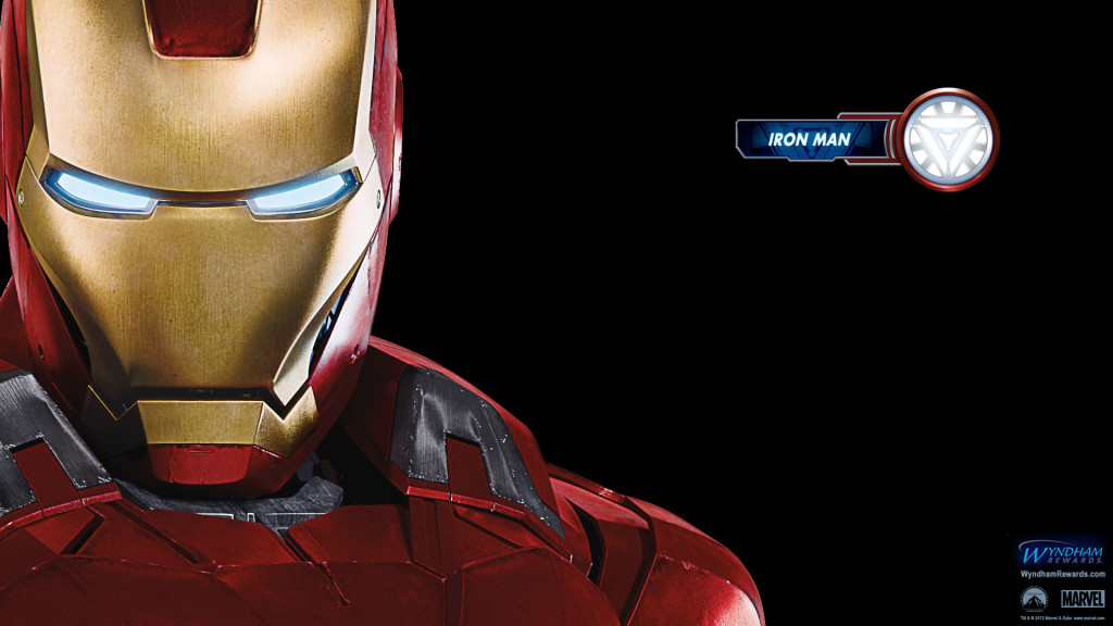 Iron Man in the Avengers Wallpaper