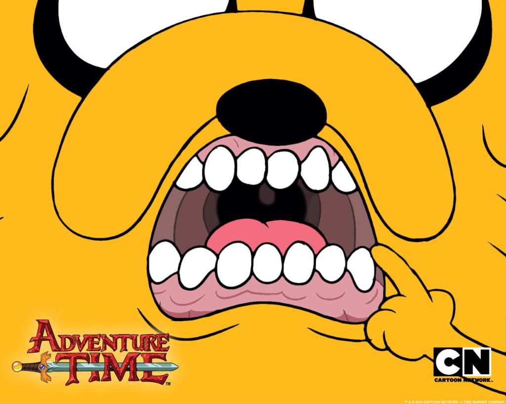 Jake Mouth Adventure Time Wallpaper