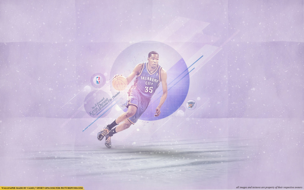 Kevin Durant Thunder 2013 Wallpaper