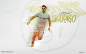 Kun Aguero Manchester City Wallpaper