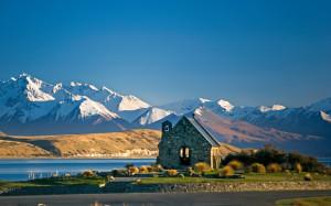 Lake Tekapo Scenery New Zealand Wallpaper