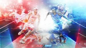LeBron James vs Kevin Durant Wallpaper