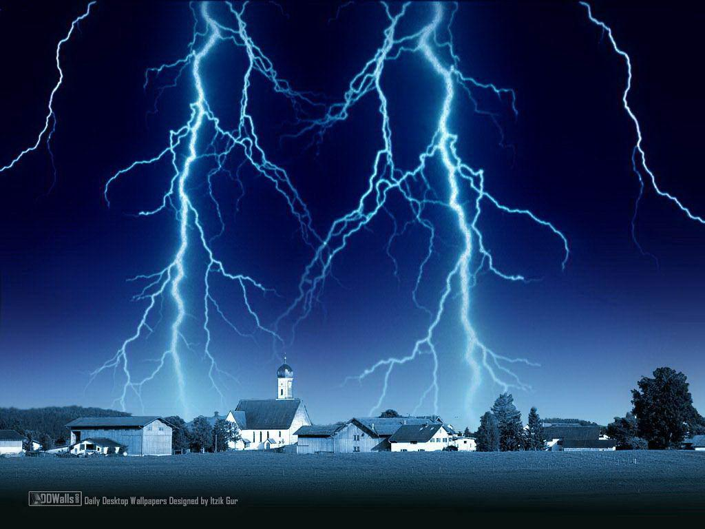 lightning strom wallpaper