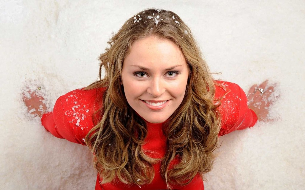 Lindsey Vonn Smile Wallpaper