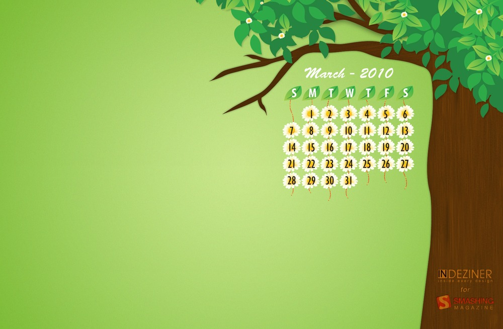 March 2013 Wallpaper