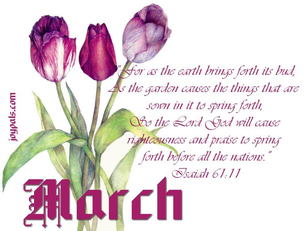 March Wallpaper HD
