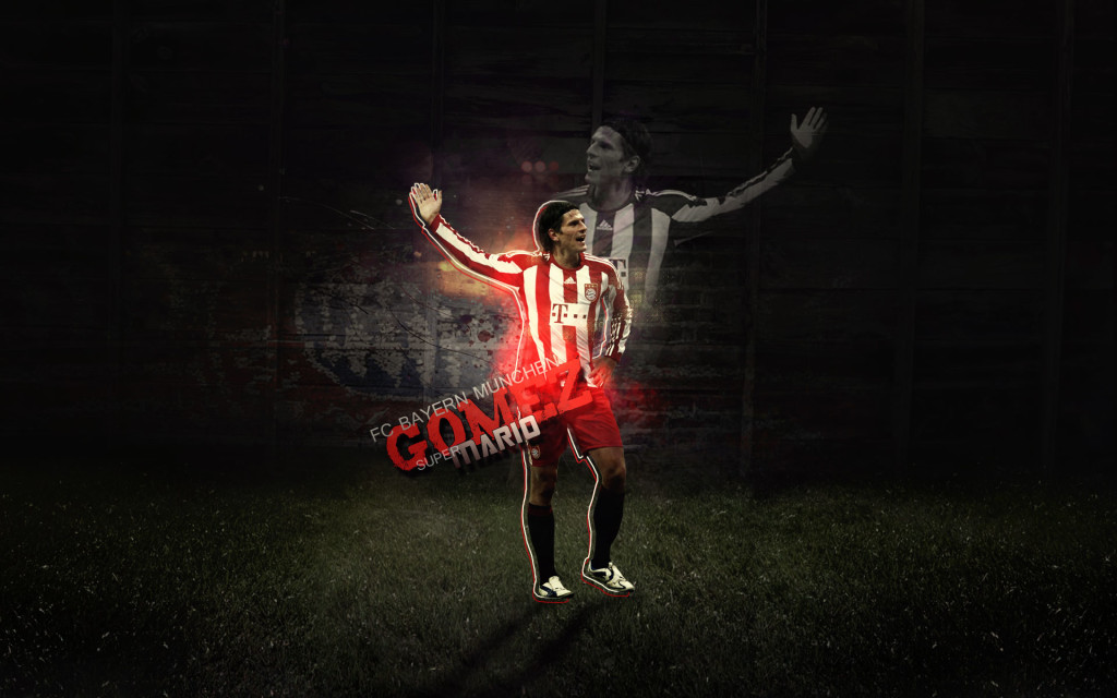 Mario Gomez Wallpaper 2013