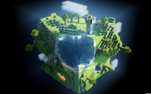 Minecraft World Wallpaper