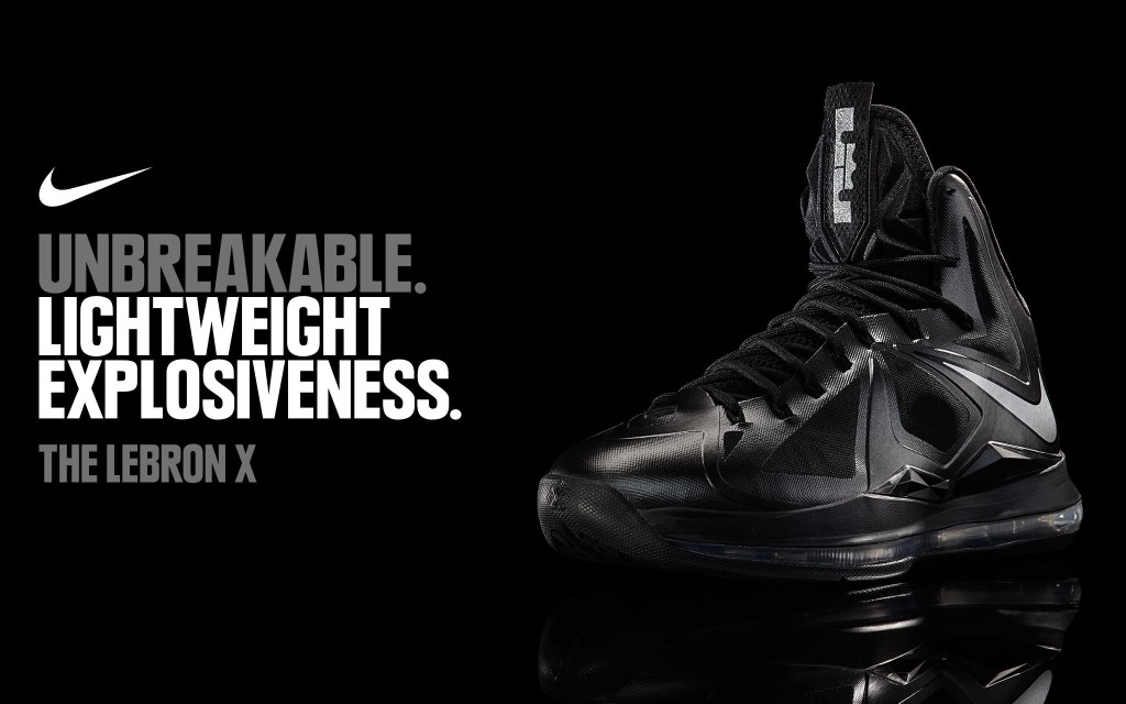 Nike Lebron X Wallpaper