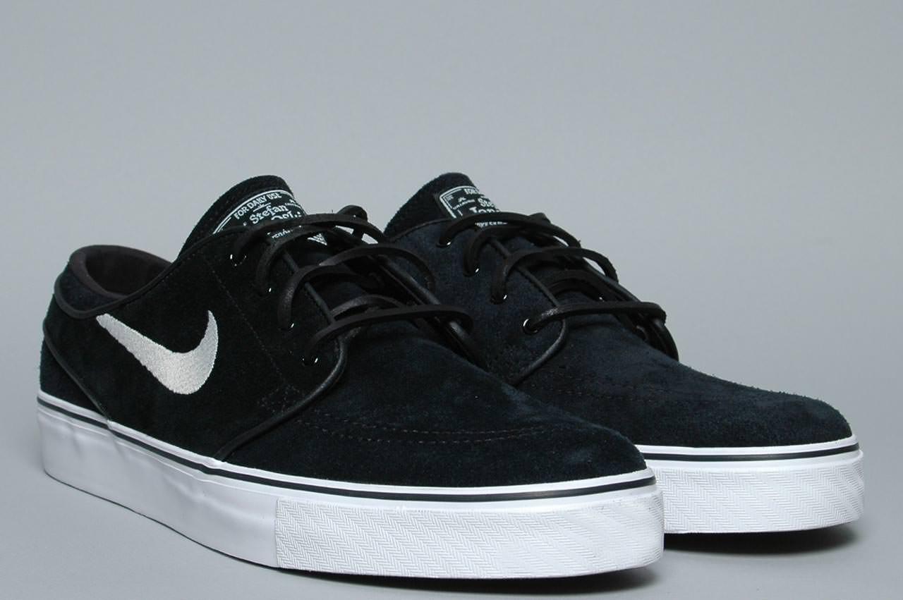 Nike Stefan Janoski Black White | Wallpup.com