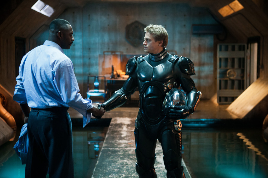 Pacific Rim Idris Elba And Charlie Hunnam