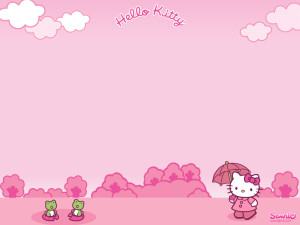 Pink Hello Kitty Wallpaper