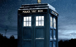 Police Box Doctor Who Wallpaper