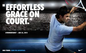 Roger Federer Nike Australian Open