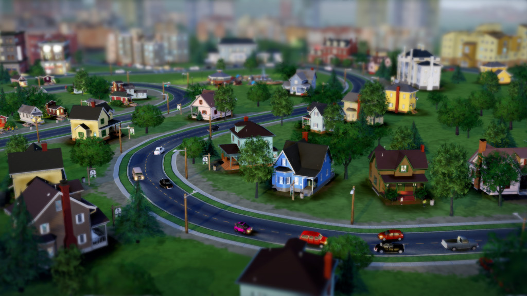 Sim City 2013 Wallpaper