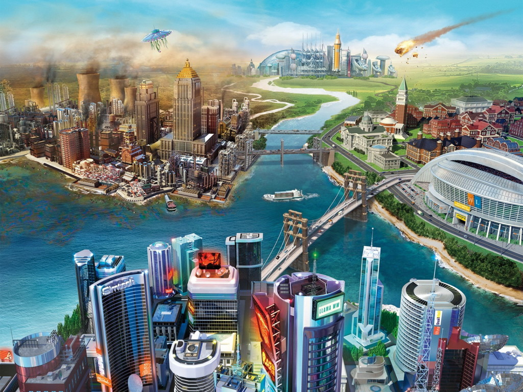 SimCity Games Wallpaper