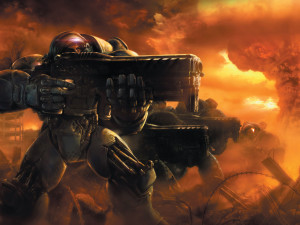Starcraft 2 Terran Wallpaper