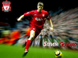 Steven Gerrard Wallpaper 2013
