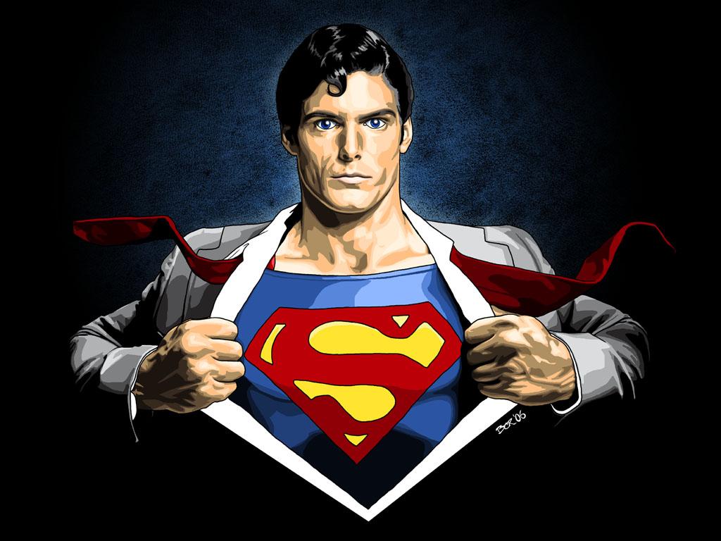 Superman Logo 3D Wallpaper