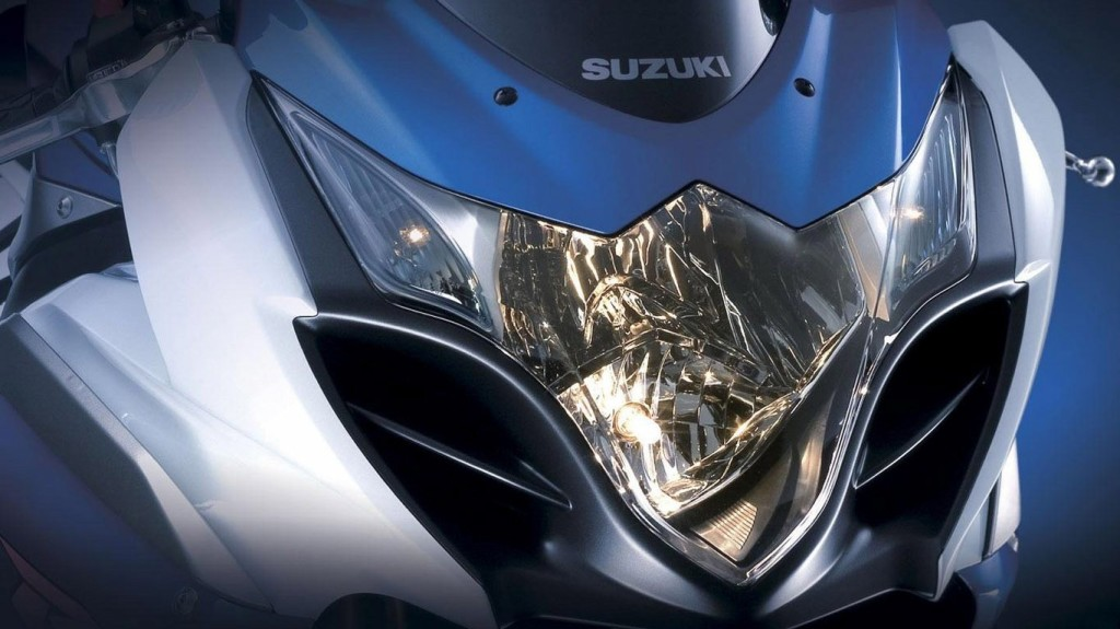 Suzuki Bike Headlight Wallpaper