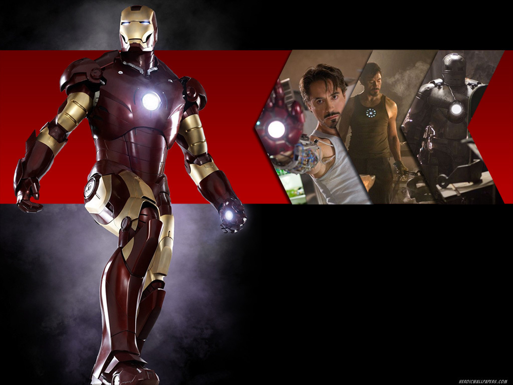 Wallpaper Iron Man