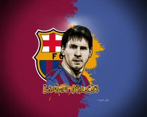 Wallpaper Lionel Messi