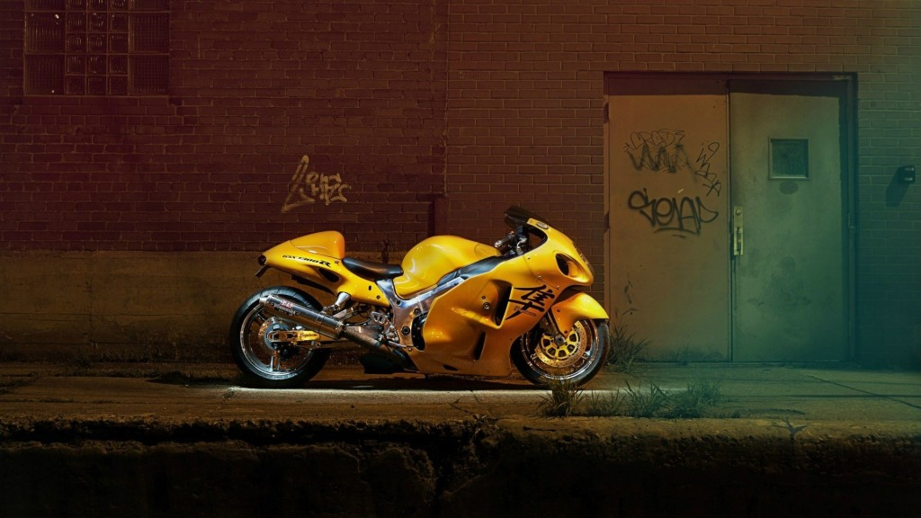 Yellow Bike Wallpaper