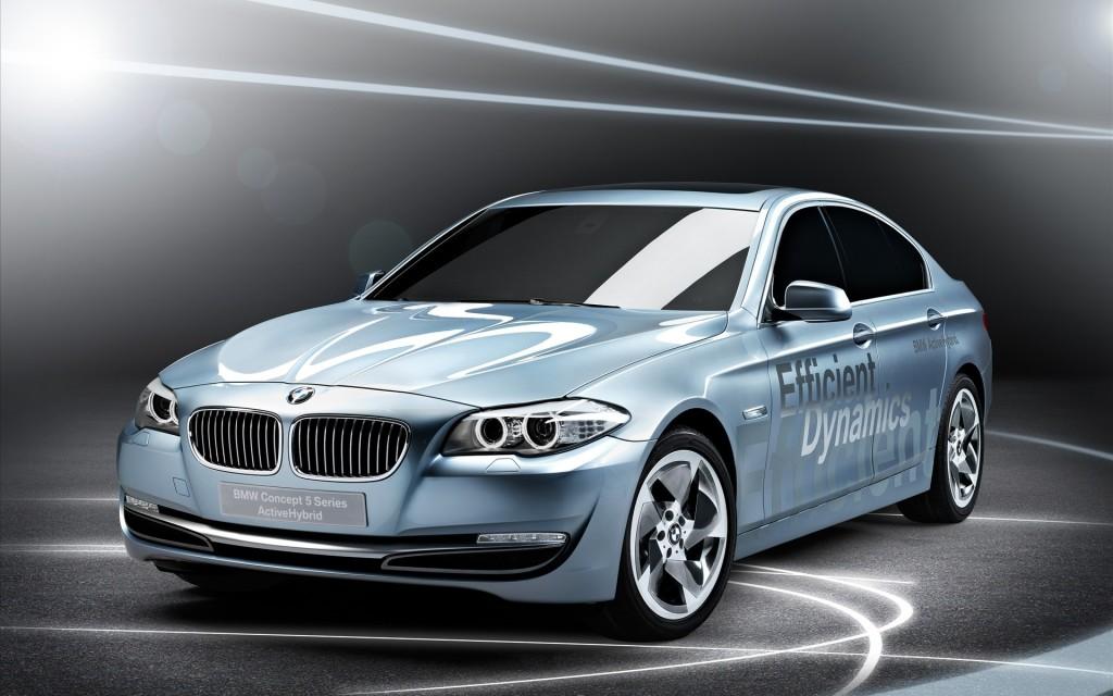 2010 BMW Series 5 Active Hybrid Concept Walllpaper
