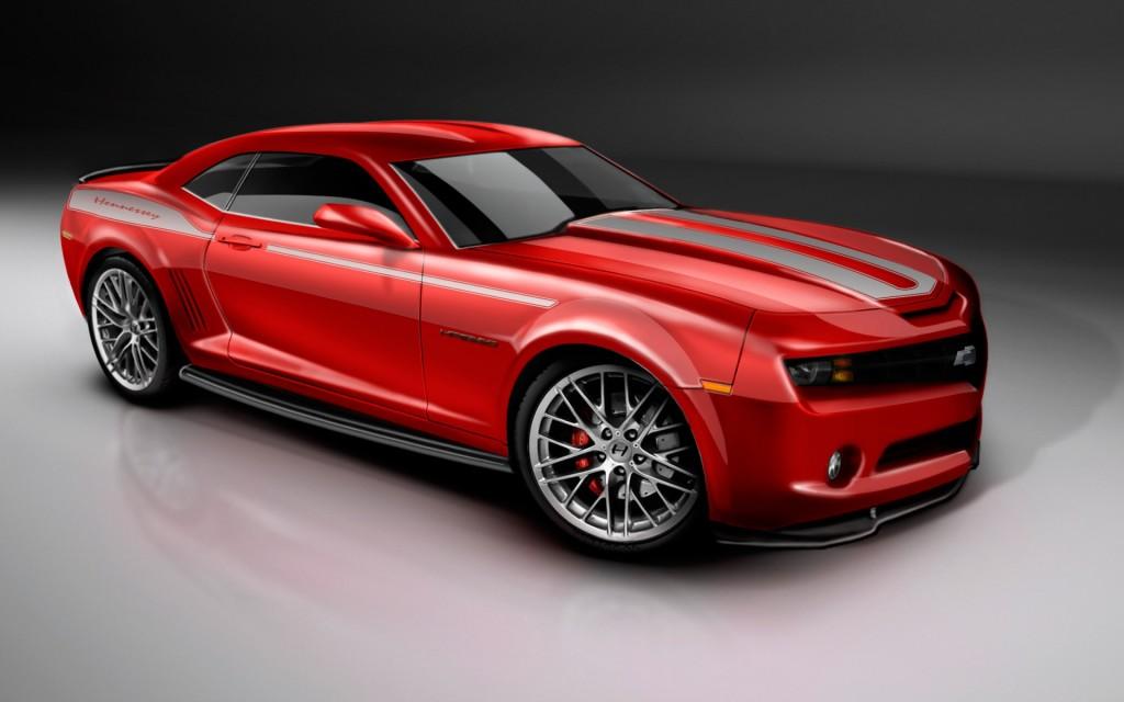 2010 Camaro Red Wallpaper