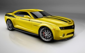 2010 Camero Yellow Wallpaper