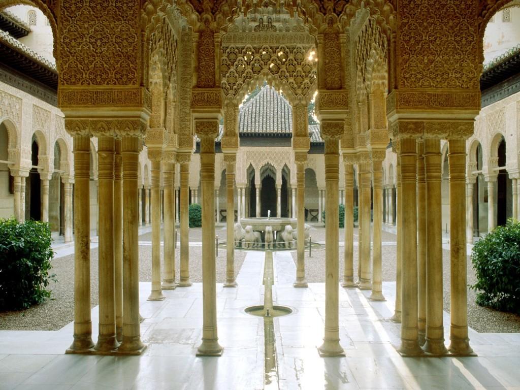 Alhambra Granada Spain Wallpaper