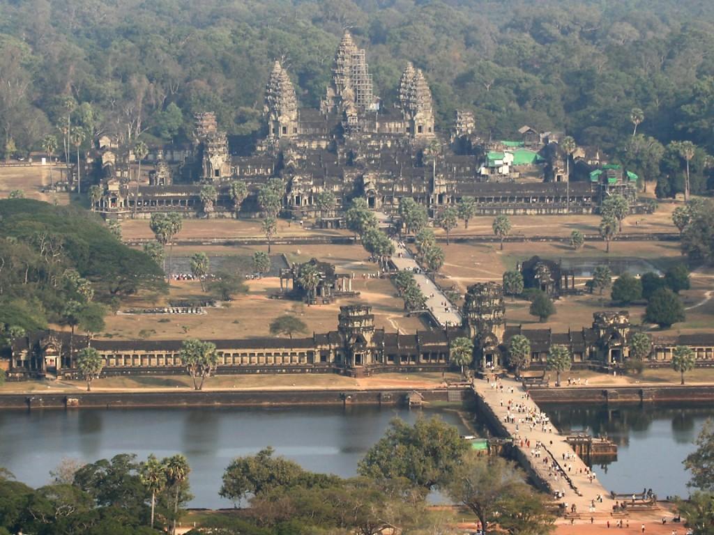 Angkor Wat Wallpaper in cambodia wallpaper