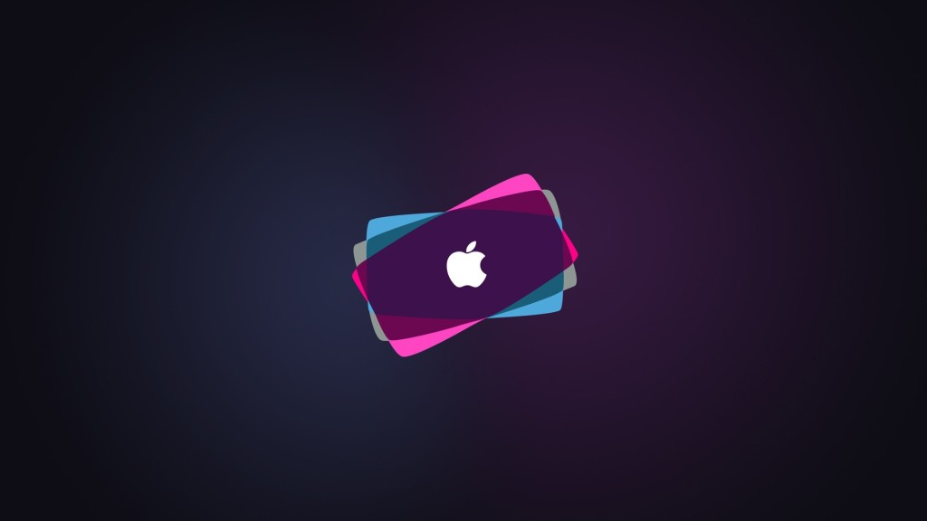 Apple Colour TV Wallpaper