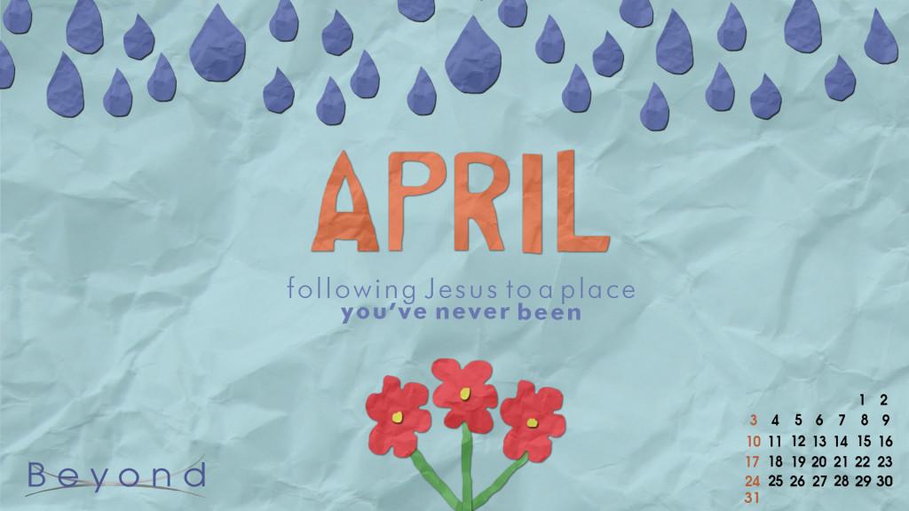 April Wallpaper HD