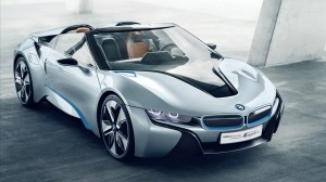 BMW i8 Spyder Concept Car Wallpaper