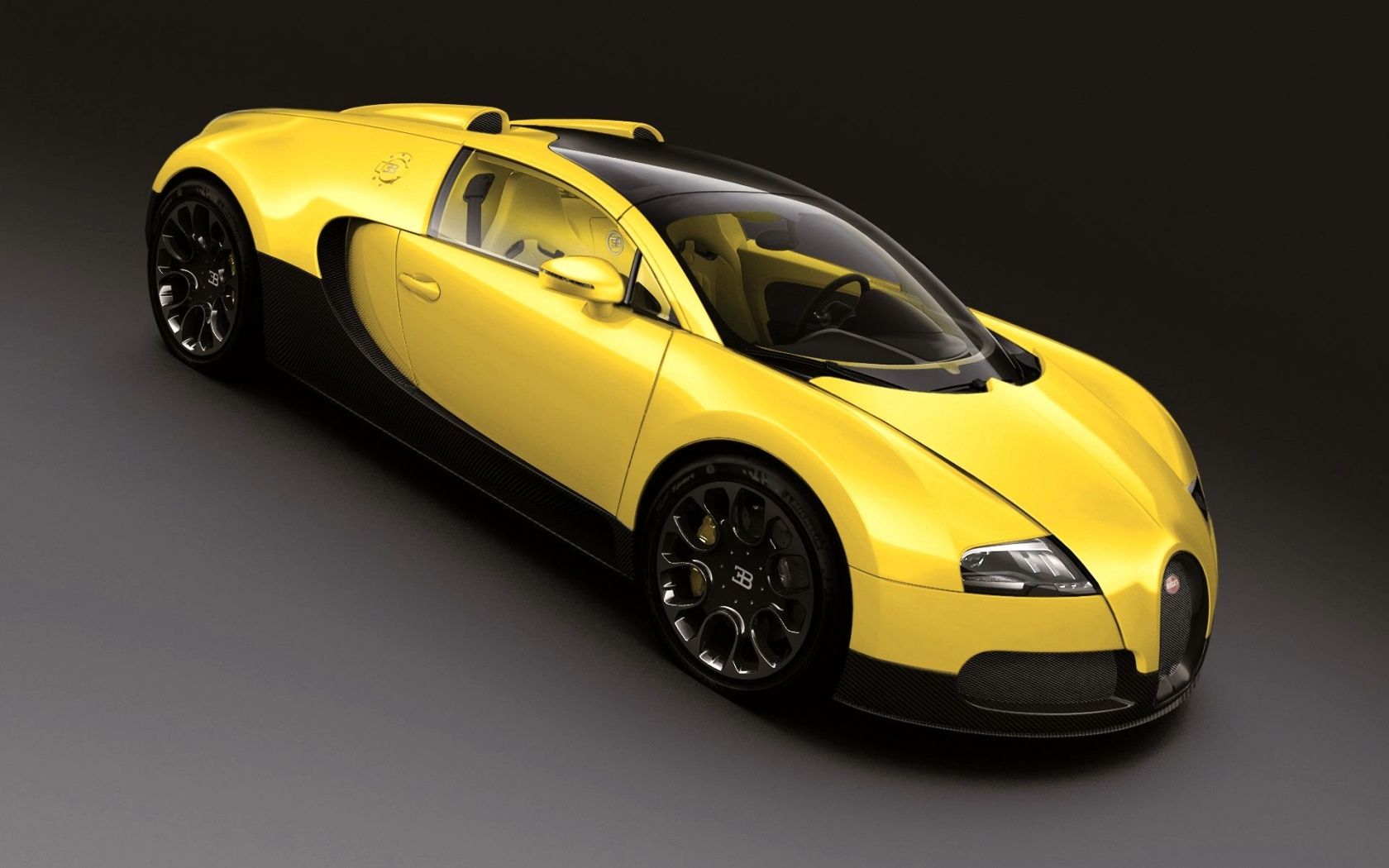 Wallpaper Bugatti Veyron Grand Sport: Bugatti Veyron 16.4 Grand Sport Wallpaper