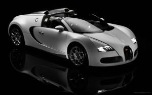 Bugatti Veyron Silver Wallpaper