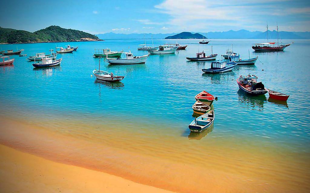 Buzios Brazil Beach Wallpaper HD