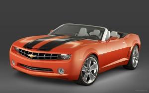 Chevrolet Camaro Convertible Concept 3