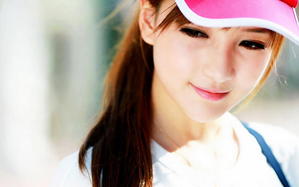 Cute Asian Girl Wallpaper HD